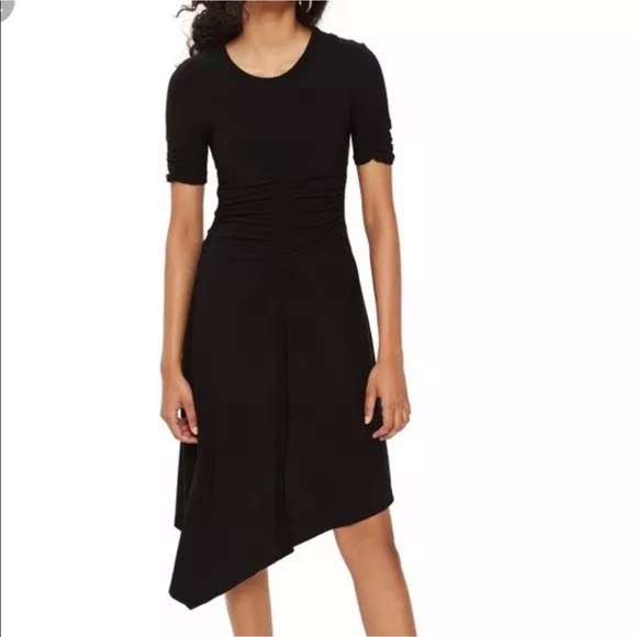 f060a5a82e3b1 Topshop Dresses   Womens Black Midi Dress   Poshmark